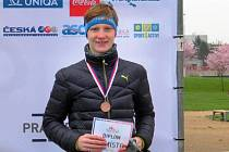 OSOBNÍ REKORD v plaveckém závodě na 200 metrů byl pro Hanyka základem úspěchu. Běh totiž ovládá bravurně.