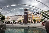 Sochy v Trutnově: Suškova rozhledna nabízí pohled ze svých útrob