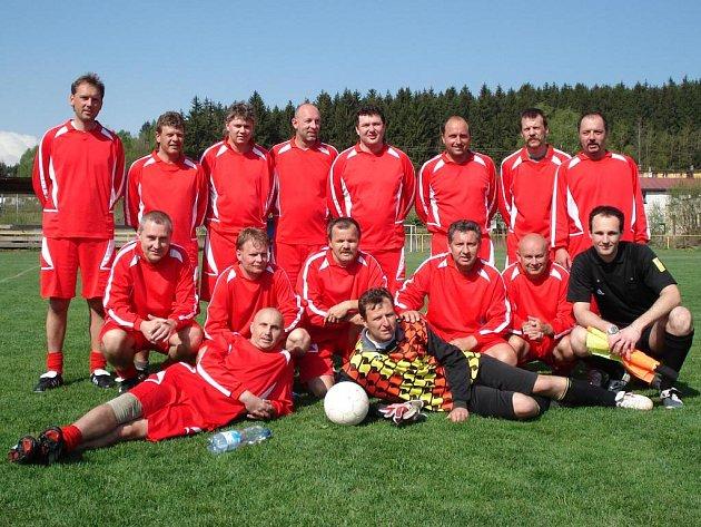Vítězný tým Mostku