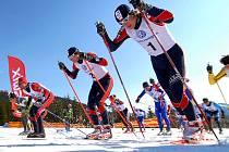 Reprezentanti. Do Krkonoš si přijede zazávodit i česká běžecká reprezentace, ve které by neměl chybět trutnovský lyžař Ondřej Horyna či vrchlabská běžkyně Iva Janečková.
