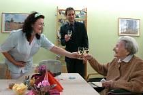 Růžena Mrkvičková oslavila 106. narozeniny