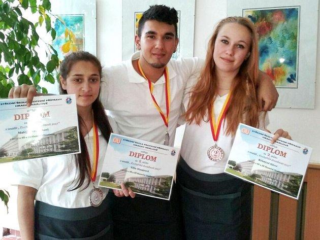 Kulinářské úspěchy mladých středoškoláků z Hostinného