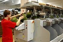 Otevření nové továrny Juta v Žirečské Podstráni