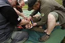 Strážce školili záchranáři Horské služby.