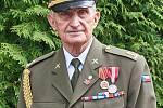 Válečný veterán Josef Svoboda.