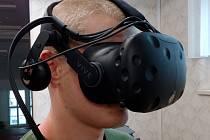 Virtuální realita na trutnovské zdrávce.