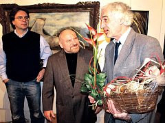 Vasil Biben (vpravo)