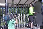 Ve Vrchlabí odstartovala v sobotu nová sezona krkonošských cyklobusů.
