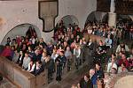 Koncert Szidi Tobias ve starém maršovském kostele.