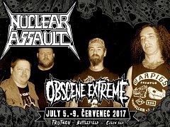 Legenda trash metalu, americká kapela Nuclear Assault řekla Evropě sbohem v prosinci 2015 v Eindhovenu. V sobotu se vrací, vystoupí na trutnovském festivalu Obscene Extreme.