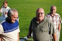 Chodili k němu na rohlík s máslem, pak Miloslav Tykal sám začal fotbalisty podporovat.