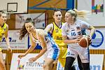 Sedmadvacet bodů zaznamenala v utkání na palubovce Slovanky Anna Rylichová.
