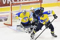 Nerozhodný výsledek není při měření sil vrchlabských hokejistů s Ústím žádnou novinkou.