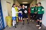 Trutnovští fotbalisté na domácím trávníku porazili Velké Hamry trefou Doubice.