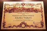Kulturní cenu Trutnova obdržel hudební skladatel a pedagog Zdeněk Trnka