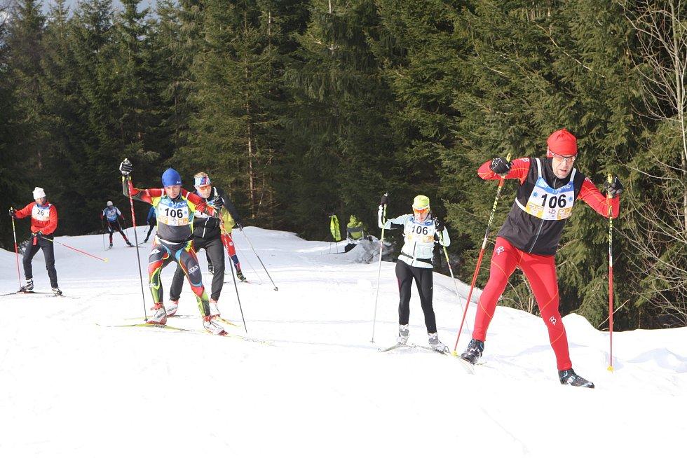 V sobotu se uskutečnil 63. ročník nejstaršího českého závodu běžkařů Krkonošská 70. Start a cíl byl v lyžařském středisku Svatý Petr ve Špindlerově Mlýně.