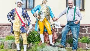 Oslavy 50 let Josefa II. v Markoušovicích