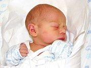 VOJTA STEHLÍK se narodil 10. října ve 12.09 hodin. Vážil 2,63 kg a měřil 46 cm. S rodiči Janou Bachtíkovou a Vladimírem Stehlíkem bydlí v Trutnově.