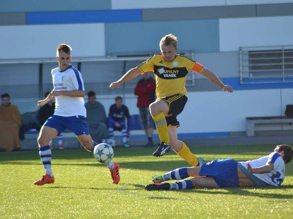 Na podzim fotbalisté Dolní Kalné uspěli ve Vrchlabí v penaltovém rozstřelu. Doma ale soupeři podlehli.