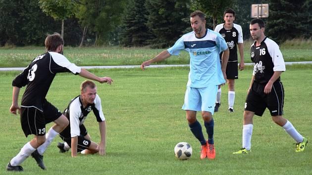 Ve středu hrály Kocbeře pohárový duel v Kuksu, teď je čeká další derby. V okresním přeboru na hřišti Vítězné.