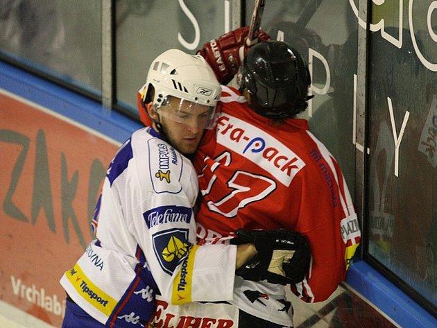 Hokejová příprava: HC Vrchlabí - HC Chrudim.