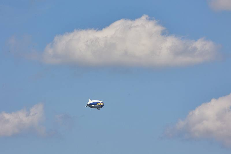 Vzducholoď nad Trutnovem