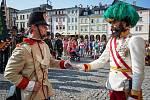 Císař František Josef I. povýšil zasloužilé vojáky