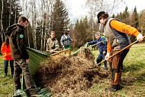 POMOC NA LUKÁCH. Lokality se vzácnými rostlinami  nyní čistí pod taktovkou odborníků školáci i studenti z regionu.