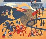 Výřez z grafiky herní krajiny Pecka.
