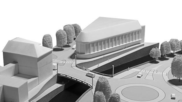 Novou mostní konstrukci přes řeku Úpu v Trutnově by mohl doplnit otevřený podchod pro chodce a cyklisty.