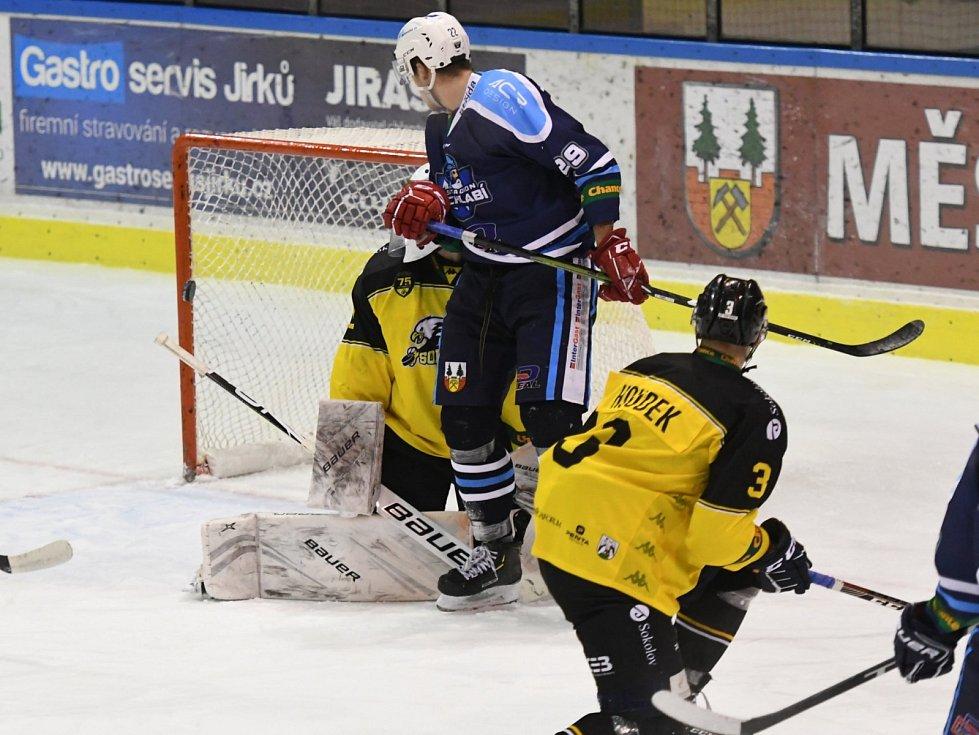 Hokejová Chance liga: HC Stadion Vrchlabí - HC Baník Sokolov.