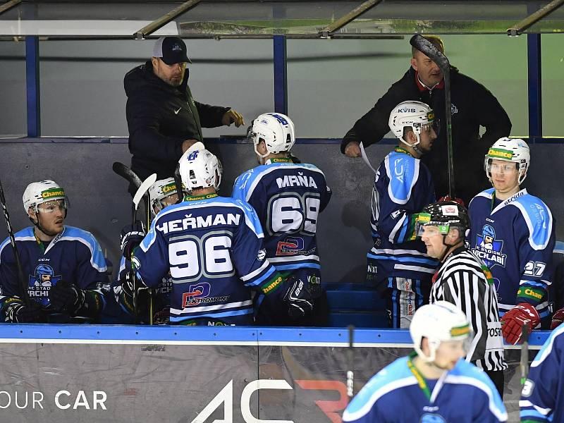 Václav Baďouček má u vrchlabského mužstva za sebou třetí sezonu.