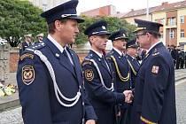 Dvorský hasič Daniel Brdička získal medaili za věrnost