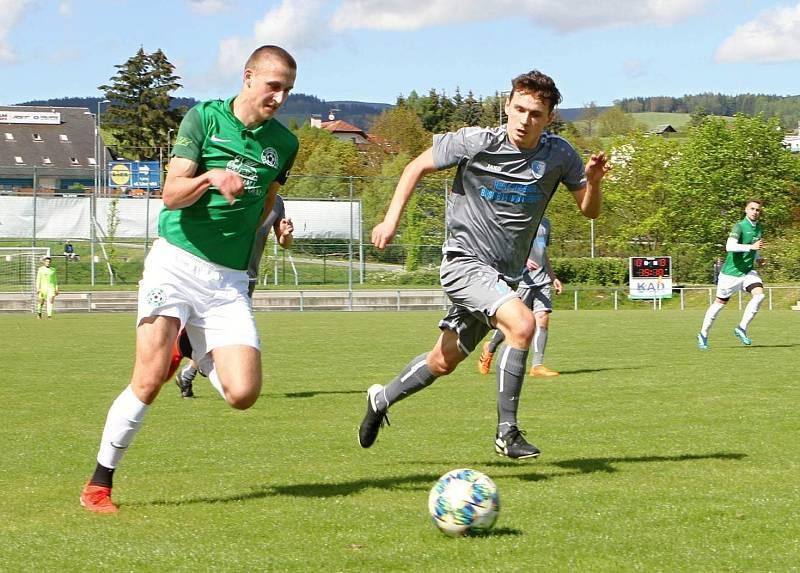 V přípravě fotbalistů Vrchlabí se vymyká výhra 5:3 nad Velkými Hamry.
