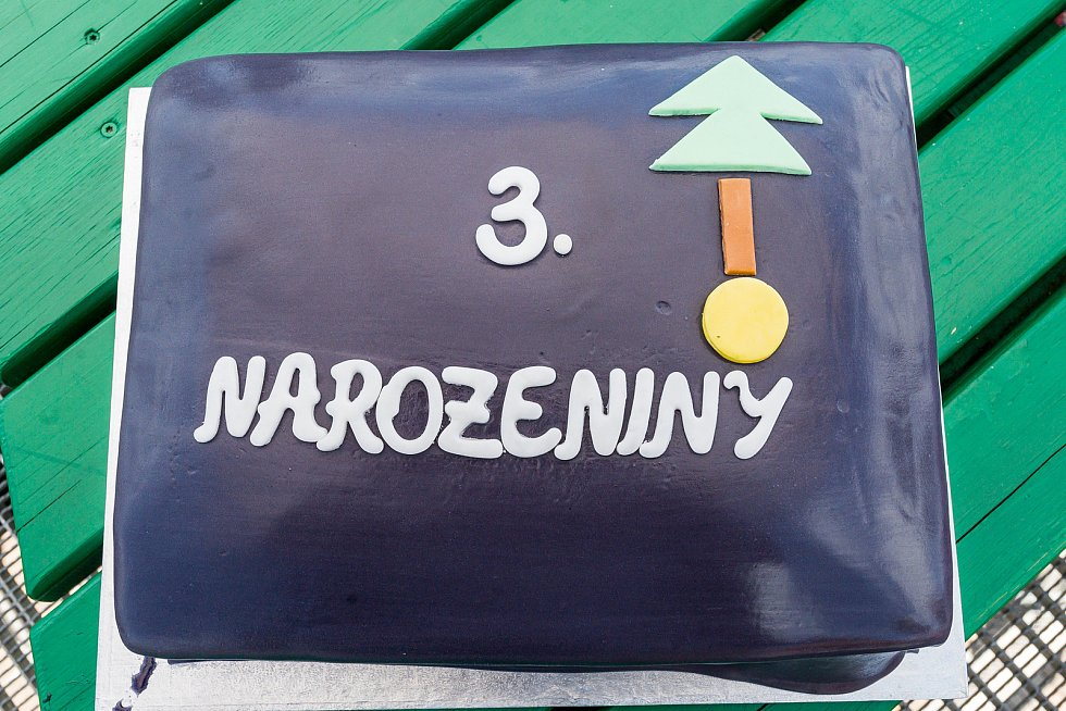 Stezka korunami stromů Krkonoše v Janských Lázních oslavila v sobotu 3. narozeniny.