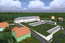 Vizualizace nové podoby areálu Barevných domků Hajnice.