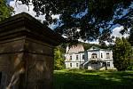 Aktuální stav bývalého zámku v Horním Maršově.