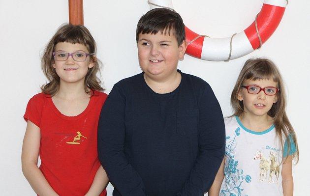 Žáci 1.třídy ZŠ Sluneční  Hostinné