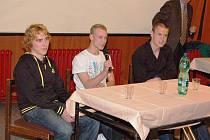 Na závěr se konala beseda a autogramiáda, které se účastnili skokané na lyžích Antonín Hájek a Roman Koudelka, a také fotbalista Adam Hloušek.