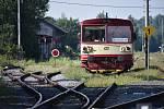Motorákem do Polska. Přeshraniční vlaky budou jezdit denně i v září, z Trutnova míří přes Královec do polských měst Lubawka, Kamienna Góra a Sędzisław.