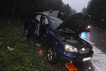 Nehoda v Janských Lázních.