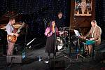 Koncert Michelle Nicolle Quartet na trutnovském festivalu Jazzinec.