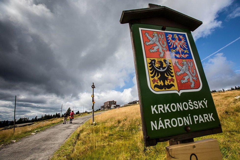 Krkonošský národní park.