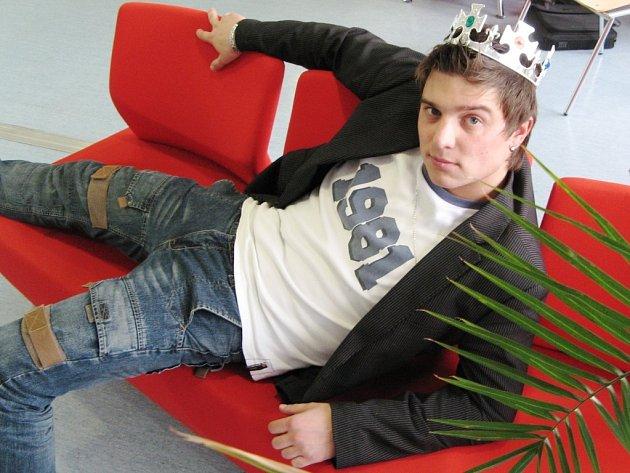 Student Vysoké školy ekonomické Lukáš Pavel z Trutnova má šanci ovládnout republikový majáles.