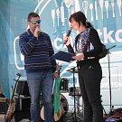 Rozhlasáci rozdávali dobroty, hudbu a dárky v soutěžích