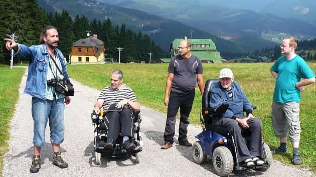 Vozíčkáři zdolali v horách další trasu