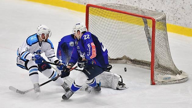 Odveta i s úroky. Vrchlabští hokejisté uspěli v Kolíně (6:1).
