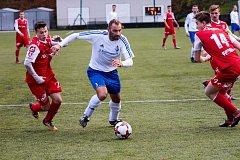 Trutnovský fotbalista Martin Kejzlar.