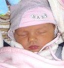 KRISTÝNKA HRÁDKOVÁ se narodila Haně a Ondřejovi 24. prosince ve 23.17 hodin. Vážila 3,4 kilogramu a měřila 52 centimetrů. Společně se sourozenci Kryštofem a Stelou bydlí v Hořicích.