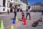 Trutnovský den pro rodinu na Krakonošově náměstí v Trutnově.